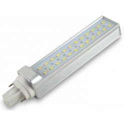 G24D LED bulb - 13W, 180 degrees