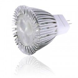 G4 LED LEDlife HELO3 LED pære - 3W, dæmpbar, varm hvid, 35mm, 12V, MR11/GU4