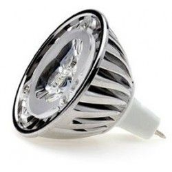 MR16 GU5.3 LED LEDlife UNO LED spotpære - 1W, dæmpbar, 12V, MR16 / GU5.3