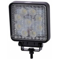 Worklight 27w Cold white, 12v / 24v - Car, Truck, boat, Trailer, Emergency vehicles