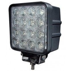 Worklight 48w Cold white, 12v / 24v - Car, Truck, boat, Trailer, Emergency vehicles