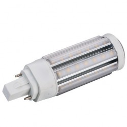 GX24Q LED bulb - 5w, 360 degrees, warm white, frosted glass