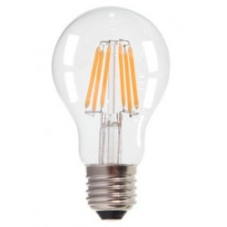 V-Tac 6W E27 LED bulb - Filament LED, Warm white, 2700k, A60