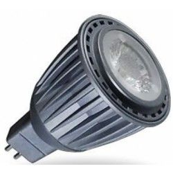 MR16 GU5.3 LED V-Tac Sharp COB LED spotpære - 7W, fokuseret 38 grader, 380lm, 12V, MR16