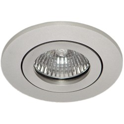 Daxtor Alu line downlight - Alu, for outdoors with GU10 cover