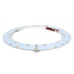 LED plate 18w - Ø25,1 cm, To replace circular tube and compact tube