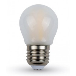 V-Tac 4W LED krone bulb - Filament, dimmable, warm white, E27