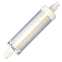 V-Tac R7S LED pære - 7W, 118mm, 230v, R7S