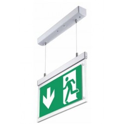 VT-520 2W SURFACE HANGING EMERGENCY EXIT LIGHT(12 HOURS CHARGING)