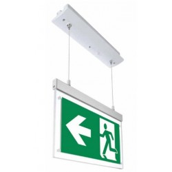 VT-521 2W RECESSED HANGING EMERGENCY EXIT LIGHT