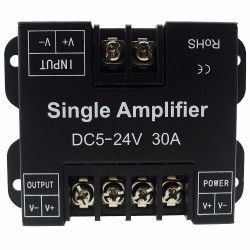 LED Signal Amplifier - LED RGB Amplifier for 5050 RGB LED SMD Strip