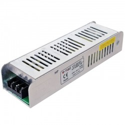V-Tac LED Power Supply SLIM - 150W 12V 12,5A Metal