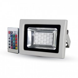 VT-4711 10W SMD FLOODLIGHT RGB WITH INFRARED REMOTE CONTROL