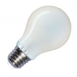 V-Tac Frost Filament LED Bulb - 6W E27 A60 Warm White