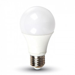 V-Tac 10W LED bulb - E27, Warm white, Dimmable, 200 degrees