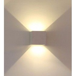 VT-759 6W-WALL LAMP WITH BRIDGELUX CHIP WHITE SQUARE