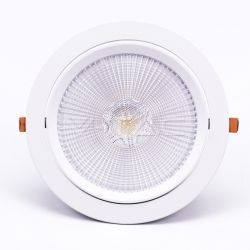 LED downlights V-Tac 30W LED spotlight - Hul: Ø19,5 cm, Mål: Ø22,5 cm, 3 cm høj, Samsung LED chip, 230V
