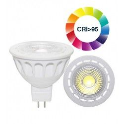 MR16 GU5.3 LED LEDlife LUX3 LED spotpære - 3W, dæmpbar, RA 95, 12V, MR16 / GU5.3