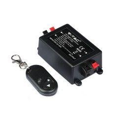 24V trappebelysning Trådløs dæmper med fjernbetjening - RF trådløs, memory funktion, 12V/24V (96W / 192W)