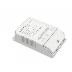 Drivers Ltech 50W dæmpbar driver til LED panel - Triac fasedæmp + push-dim, passer til vores 45W store LED paneler