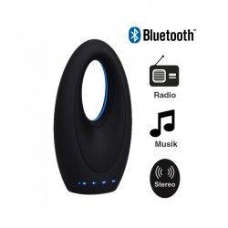 Lamper V-Tac Design Bluetooth Højttaler - 5W, genopladelig, FM Radio, Aux, SD, USB