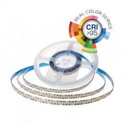 24V V-Tac 18W/m LED strip RA 95 - Samsung LED chips, 10m, 24V, IP20, 240 LED pr. meter,