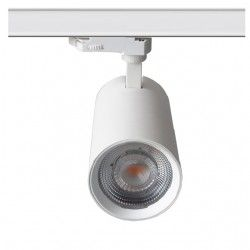 Skinnespots LEDlife hvid skinnespot 28W - Flicker free, Citizen LED, RA90, 3-faset