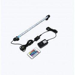 Akvarier 92 cm RGB akvarie armatur - 9W LED, med sugekopper, IP68