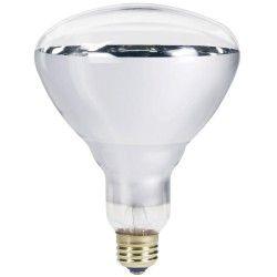 Industri Klar E27 250W infrarød glødetrådpære - Varmepære, R125