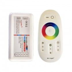 24V RGB+WW RGB+WW controller med fjernbetjening - Passer kun til RGB+WW strip, RF trådløs, 12V (288W), 24V (576W)