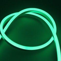 230V Neon Flex Grøn 8x16 Neon Flex LED - 8W pr. meter, IP67, 230V