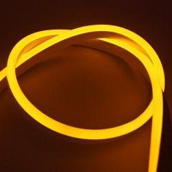 230V Neon Flex Gul 8x16 Neon Flex LED - 8W pr. meter, IP67, 230V