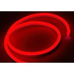 230V Neon Flex Rød 8x16 Neon Flex LED - 8W pr. meter, IP67, 230V