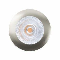 Indbygningsspots LEDlife Unni68 møbelspot - Hul: Ø5,6 cm, Mål: Ø6,8 cm, RA95, børstet stål, 12V
