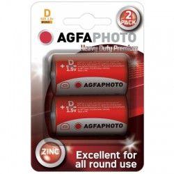 Elmateriel D/MN1300 2-pak AgfaPhoto batteri - Alkaline, 1,5V