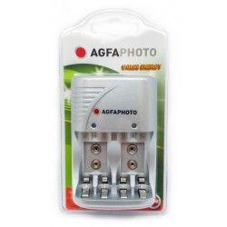 Elmateriel 1 stk AgfaPhoto oplader - til genopladeligt batteri