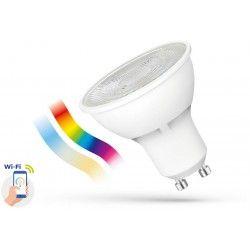 Smart Home Enheder 5W Smart Home LED pære - Virker med Google Home, Alexa og smartphones, GU10