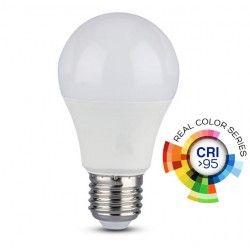 E27 LED V-Tac 10W LED pære - A60, E27, RA 95