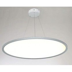LED pendel LEDlife 40W LED rundt panel - 100 lm/W, Ø60, hvid, inkl. wireophæng