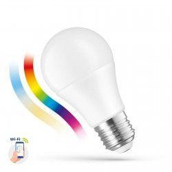 Smart Home Enheder 9W Smart Home LED pære - Virker med Google Home, Alexa og smartphones, E27, A60
