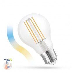 E27 LED 5W Smart Home LED pære - Virker med Google Home, Alexa og smartphones, E27, A60