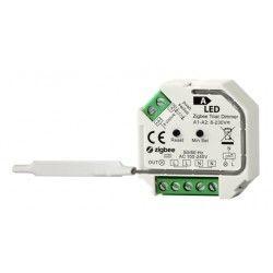Elmateriel Zigbee indbygningsdæmper - 200W LED dæmper, kip-tryk/push dæmp, korrespondance, memory funktion