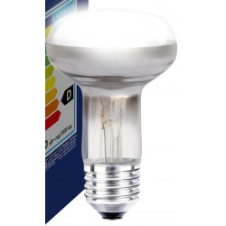 Traditionelle pærer Klar E27 60W reflektor glødetrådspære - Traditionel pære, 400lm, dæmpbar, R63