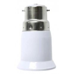 B22 LED B22 til E27 adapter