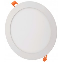 LED Paneler 6W LED indbygningspanel - Hul: Ø11 cm, Mål: Ø12 cm, 230V