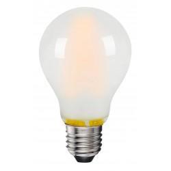 E27 LED 8W LED pære - 3-trin dæmpbar, on/off dæmpbar, matteret glas, 230V, E27