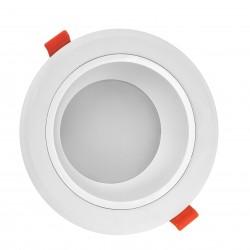 Indbygningsspots 15W LED spotlight - Hul: Ø13 cm, Mål: Ø15 cm, 230V, IP44 vådrum & udhæng