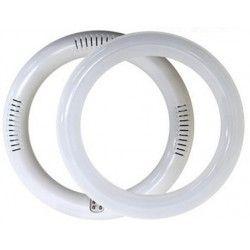 2D kompakt rør 11W LED cirkelrør - Ø25 cm, 230V