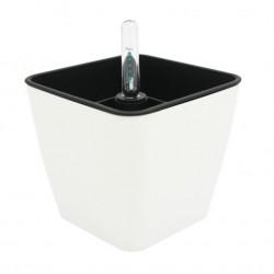 Selvvandingspotter Selvvandingspotte 13x13 - Firkantet, hvid, 13x13 cm