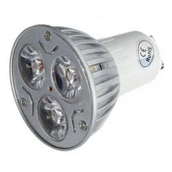 GU10 LED LEDlife TRI3 LED spot - 3W, ekstra varm 2400K, 230V, GU10